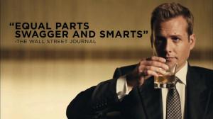 Harvey Specter - the best closer New York has ever seen.