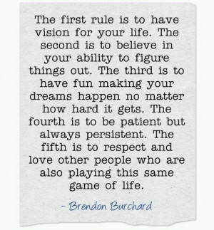 Game of life - Brendon Burchard