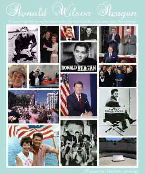 Ronald Reagan --> 10 Fun Facts!