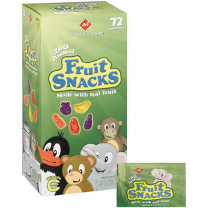 ... mark fruit snacks 72 0 9oz overview zoo animal fruit snacks made with
