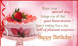 Birthday Greetings and Birthday Wishes For Free Download Cards To Wish ...