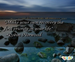 Recovery Quotes Picture