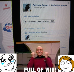 Carly PIcard Win - Funny pictures