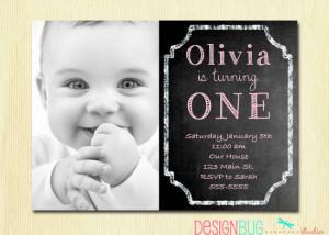 ... Photo Invitation - Printable 1, 2, 3, 4, 5 year old Birthday Invite