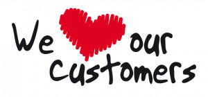 We LOVE our customers…
