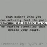 heart break quotes, love, deep, sayings, loving heart break quotes ...