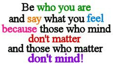 Being Yourself Quotes (18)