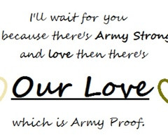 Army Love Quotes Results for army love