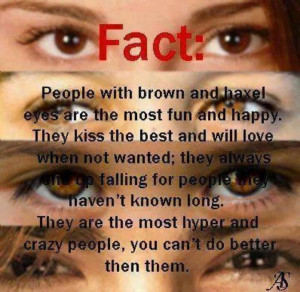 quotes about people with brown eyes