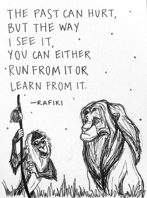 Quote: Snuggling Quotes, King Rafiki Quotes, Lion Kings, Quotes ...