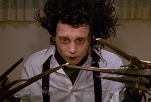 "Edward Scissorhands : ""You can't touch anything without destroying ..."