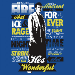 TShirtGifter presents: Fire and Ice and Rage   Doctor Who