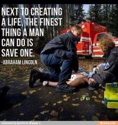 Saving Lives!