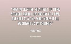 Paula Yates Quotes