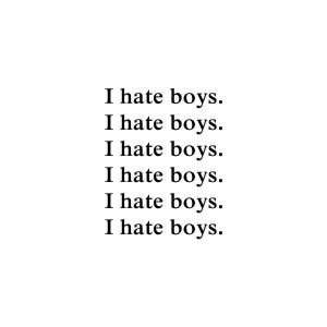 hate boys. liked on Polyvore