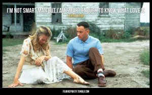Film Inspiratif — Quote from Forrest Gump