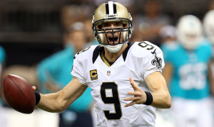 drew brees drew brees brees at the saints super bowl xliv victory ...