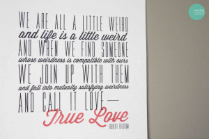 Free Printable True Love Quote Poster, Card and Background Image ...