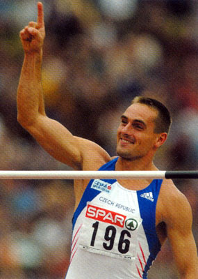 Roman Sebrle. Decathlon WR holder.