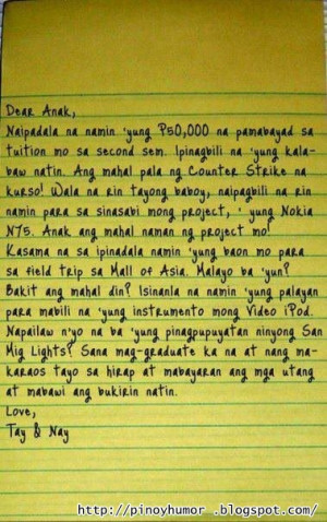 Letter For Teachers Day Tagalog