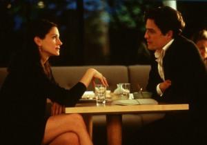 Still of Julia Roberts and Hugh Grant in Notting Hill (1999)