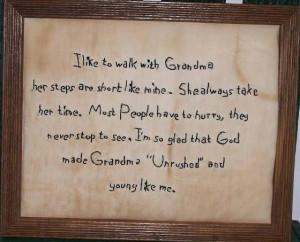 Primitive+Sayings+and+Phrases   Walk w/Grandma Primitive Hand ...