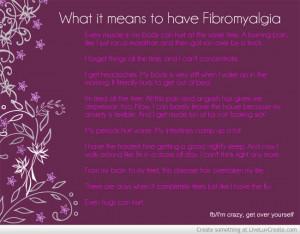 Fibromyalgia Funny Quotes