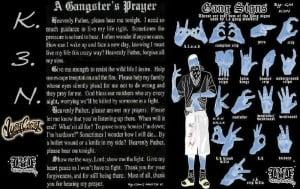 All Graphics » GANGSTER PRAYER