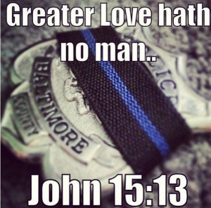 Thank a police officer today 9-21-13