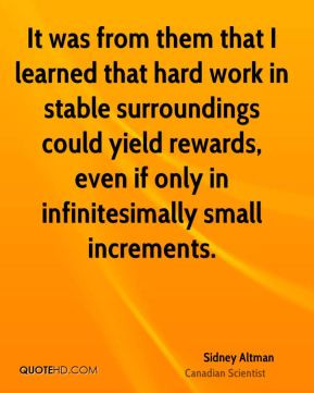 Giving credit where credit is due is a very rewarding habit to form ...
