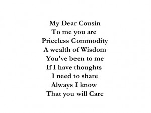 Cousin Quotes Poems of Cousin Poems Written by