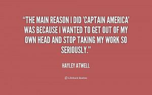 Captain America Movie Quotes