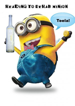 Minion for Tequila! #shopkick #summerparty