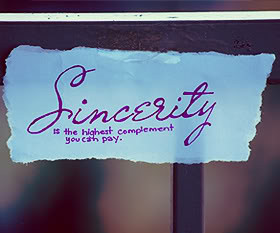 Sincerity Quotes About Sayings