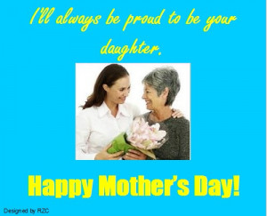 Mothers Day Quotes And Sayings From Daughter