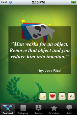 Download Famous Filipino Quotes Lite iPhone iPap iOS