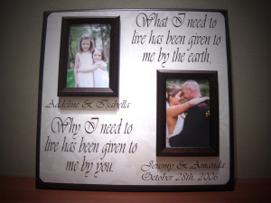 ... Frame, 5 year Anniversary, What I Need to Live, Quote, Wedding Song