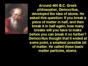 Information About Democritus | information about the atom was first ...