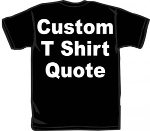 Personalized and Custom TShirts!