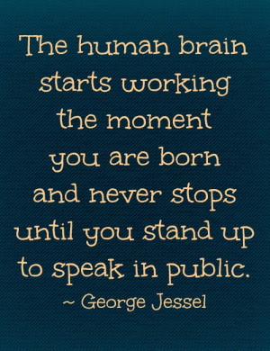 Public Speaking Anxiety Quotes