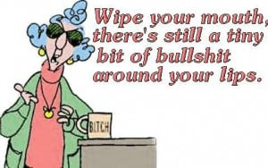 Maxine just had to have the last word.