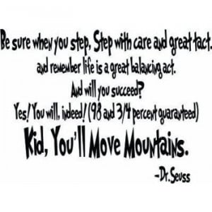 Dr. Seuss Quotes About Being Yourself Dr seuss quote.