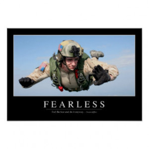 Fearless: Inspirational Quote Posters