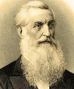 George Bancroft engraving detail