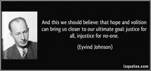 More Eyvind Johnson Quotes