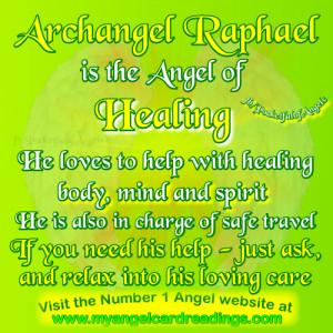 Archangel Raphael Quot...