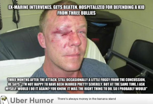 Good Guy Ex-Marine   Funny Pictures, Quotes, Pics, Photos, Images ...