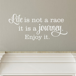 Life is a Journey Wall Quotes™ Decal