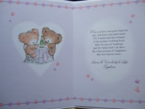 Details about Quality WEDDING DAY Card WITH FABULOUS VERSES