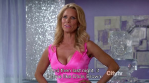 """Dallas Royce (Cheryl Hines) from Suburgatory s02e02 """"The Witch of ..."""